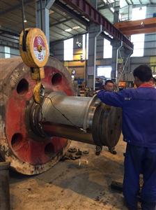 Bước khởi đầu dự án thay mới vành băng đa cho nhà máy Xi Măng Duyên Hà tỉnh Ninh Bình