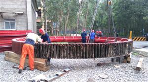 Dự án thay mới vành băng đa cho nhà máy Xi Măng Duyên Hà( phần 2)