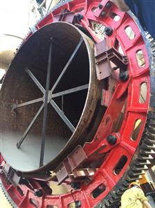 Dự án thay mới vành băng đa cho nhà máy Xi Măng Duyên Hà  hoàn thành 95% (phần 4)