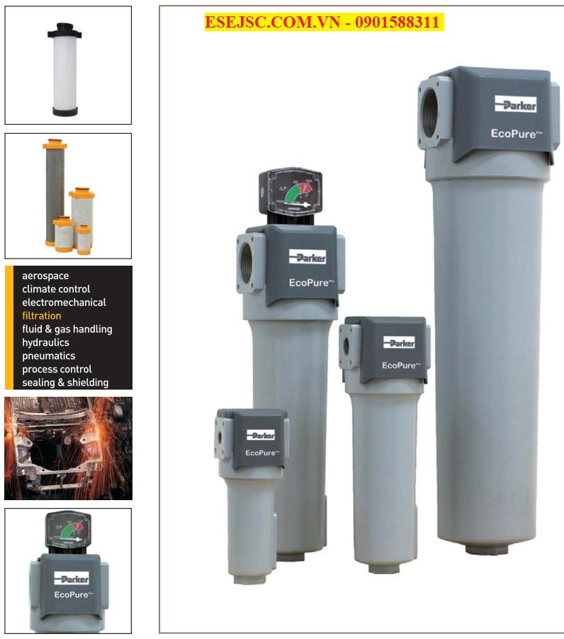 Bộ lọc khí nén công nghiệp giá rẻ tại Hải Phòng