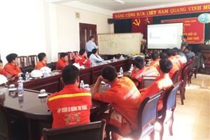 ESE mời chuyên gia nước ngoài về training chổi than cho các nhà máy xi măng