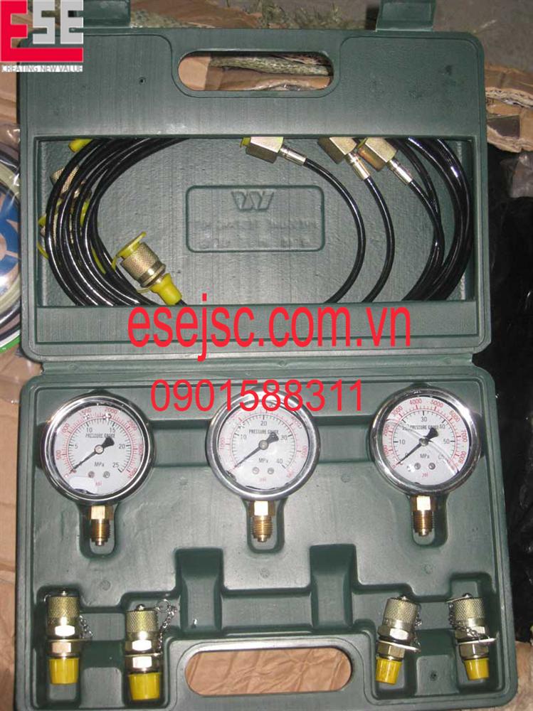 Đồng hồ đo áp suất thủy lực chính hãng, giá rẻ tại Hải Phòng