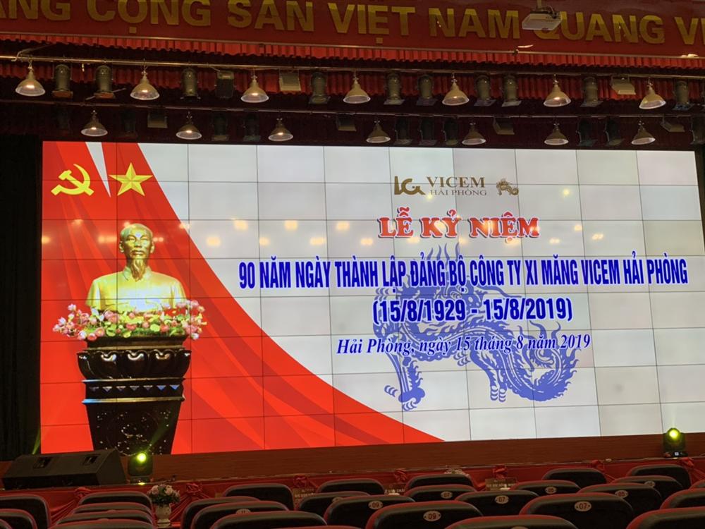 Công ty ESE tham dự lễ kỉ niệm 90 năm thành lập Đảng bộ Công ty Xi măng Vicem Hải Phòng