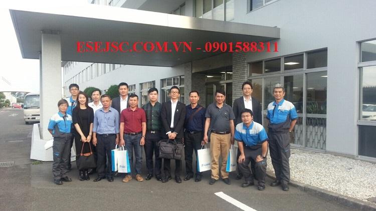 Chuyến công tác tại Nhật của công ty ESE ,đưa khách hàng thăm quan nhà máy Tsubaki.