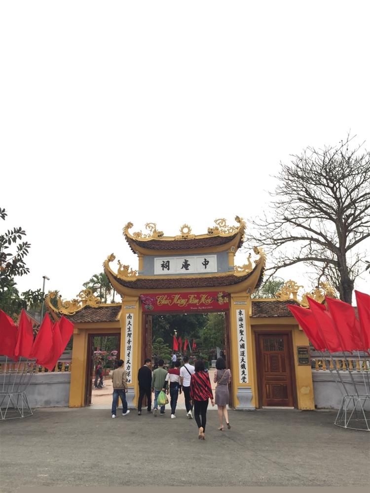 Cty  ESE đi thăm khu di tích TRẠNG TRÌNH NGHUYỄN BỈNH KHIÊM đầu năm 2019