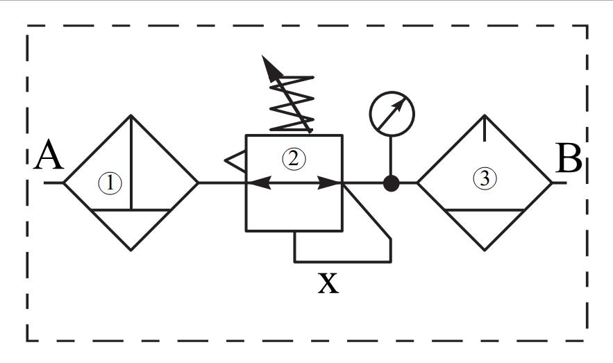 Nguyên lý làm việc Lọc-điều áp khí nén, Lọc-điều áp khí nén Parker, Lọc-điều áp khí nén -KL3439 - KL3440, KL3437, KL3436, KL3438, KL3435, M33005, B4300, VB12, VB22, VB42, P4Q, VQB12, VQB22, VQB42, P3XAA, P3XCA