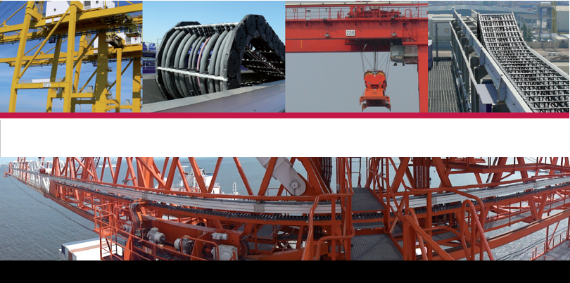 Cung cấp xích nâng , xích kéo cho hệ thống cảng