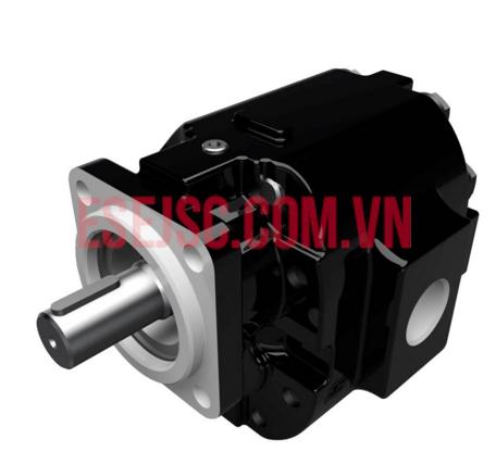 Motor bánh răng ổ trục vòng bi vỏ thép đúc PGM Series 076