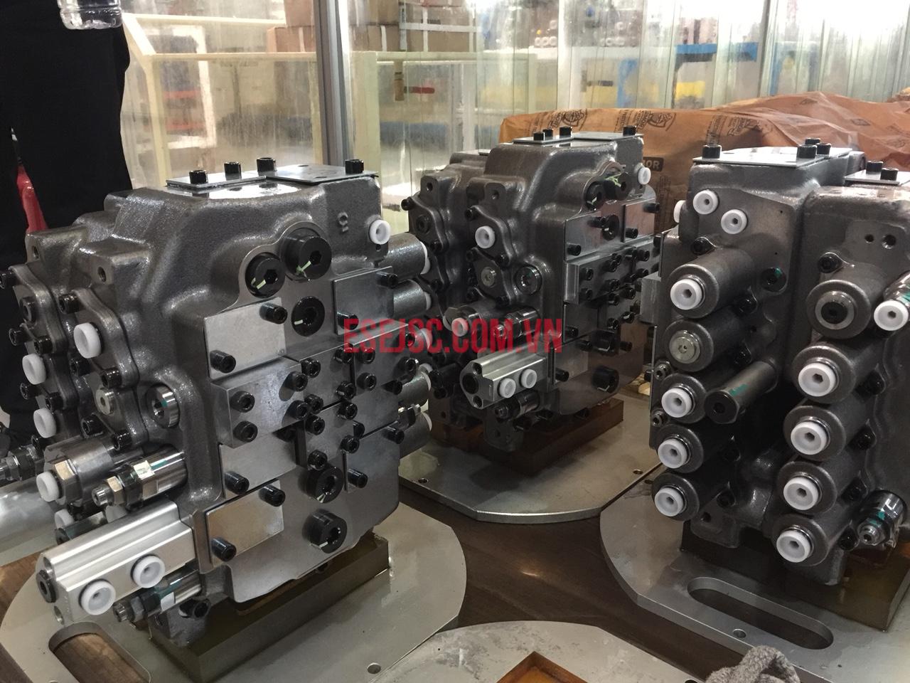 Block valve cho xe máy công trình