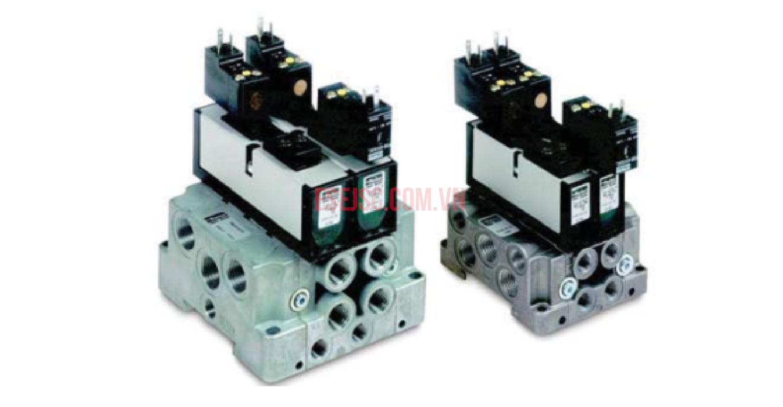 Van điện từ khí nén  Parker DX - ISO 15407-1 VDMA 24563 ISOMAX
