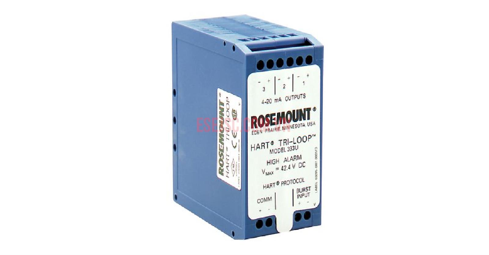 Bộ chuyển đổi tín hiệu Tri-Loop Rosemount 333 HART