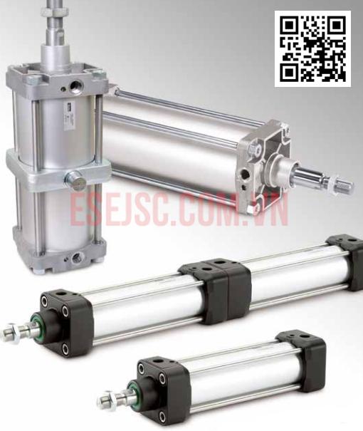 Xy lanh ISO 15552-P1D-T - Xi-lanh khí