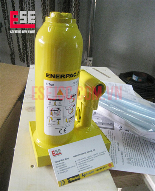 Kích thủy lực 5 tấn Enerpac GBJ005