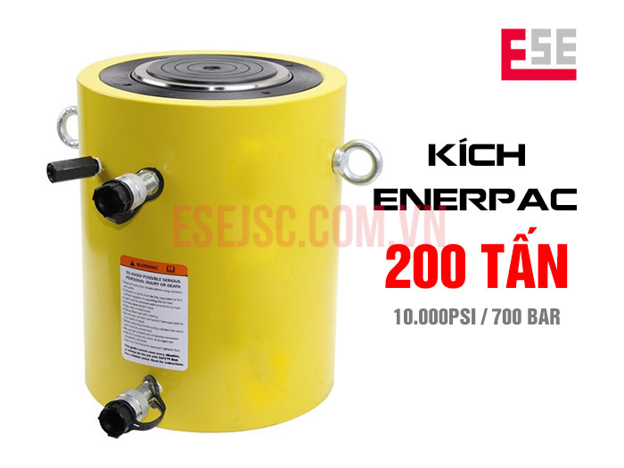 Kích thủy lực 200 tấn Enerpac CLRG2006