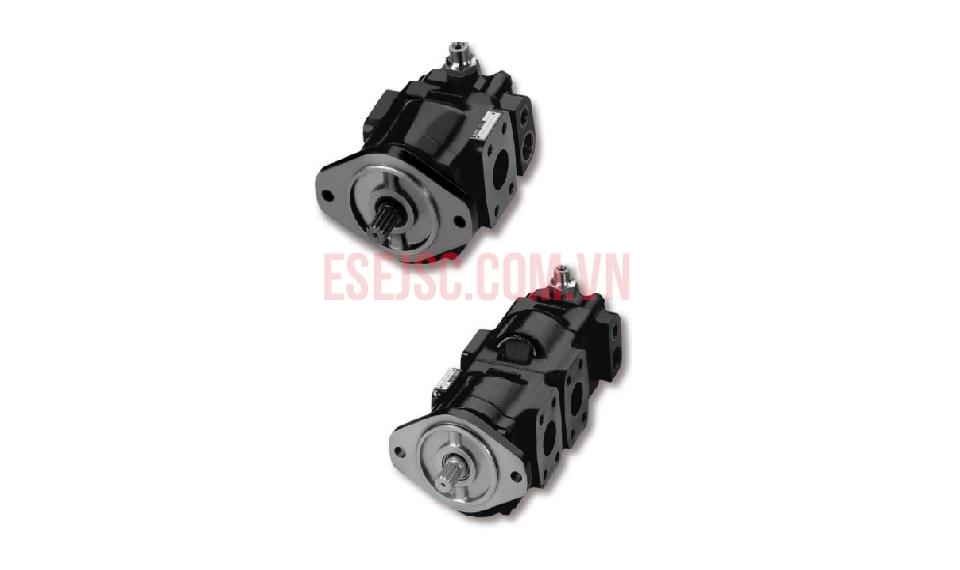 Motor thủy lực áp suất cao vỏ thép đúc- Series PGP/PGM 600