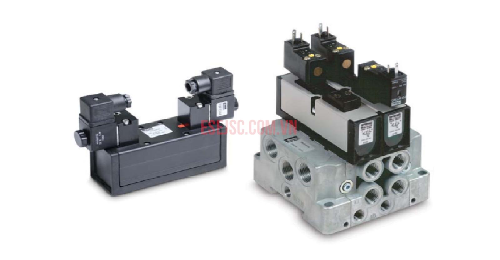 Van điện từ khí nén Parker DX - ISO 5599-1 ISOMAX