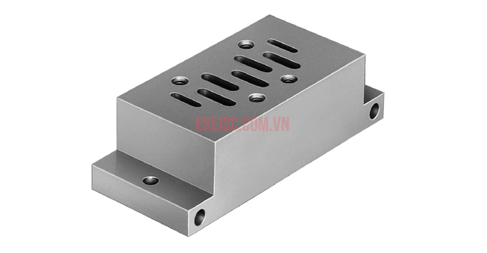Van điện từ khí nén  Parker ISO 5599 - 1 VDMA 24345 Subbase