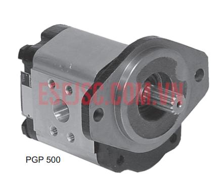 Motor thủy lực áp suất cao vỏ nhôm - Series PGP/PGM 500